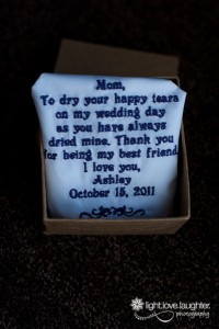 Mother of the bride, gifts