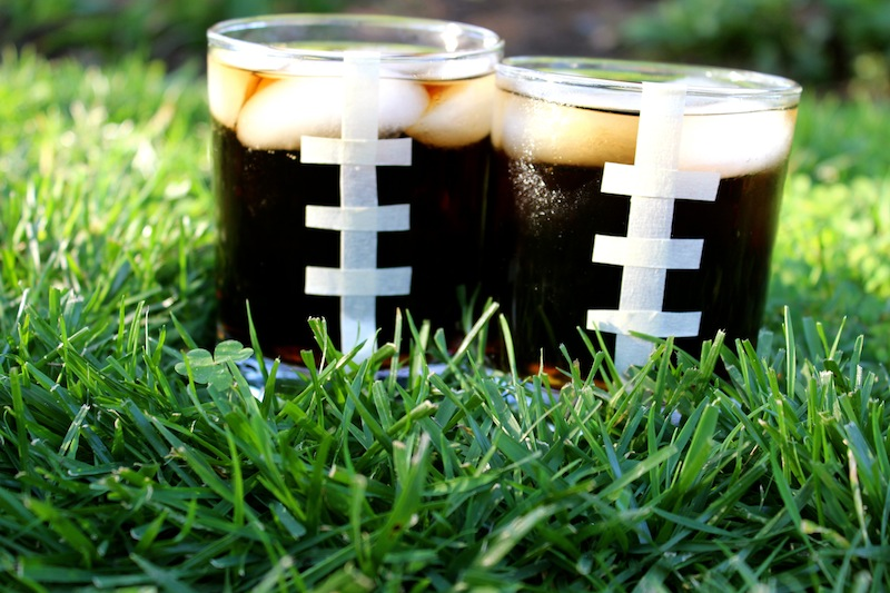 DIY Football Cups