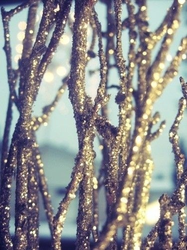 Glitter Spray Branches