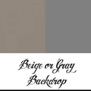 Beige & Gray Backdrop