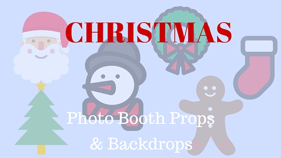 Christmas photo booth props and backdrops photo booth of the stars the halls have been decked the stockings are all hung in a row now theres just one thing left to do get your christmas themed photo booth ready for the solutioingenieria Choice Image